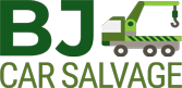 B J Car Salvage Logo
