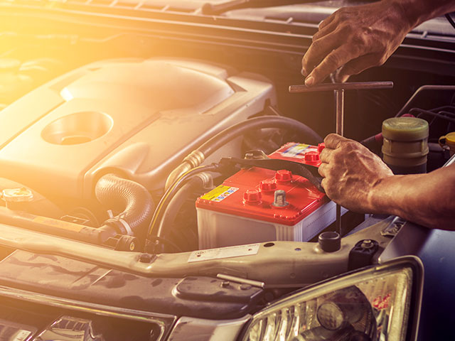 car battery removal