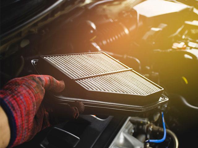 car filter removal